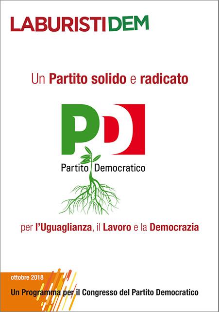 Scarica il Programma di LaburistiDem per il Congresso PD